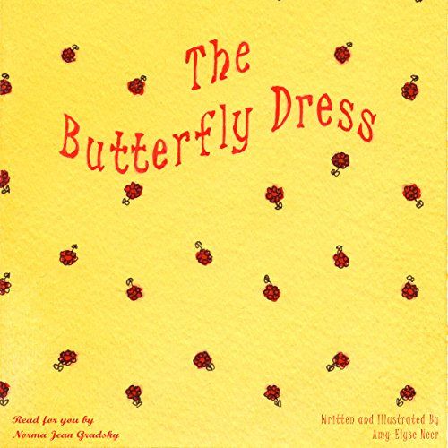 The Butterfly Dress audiobook cover art