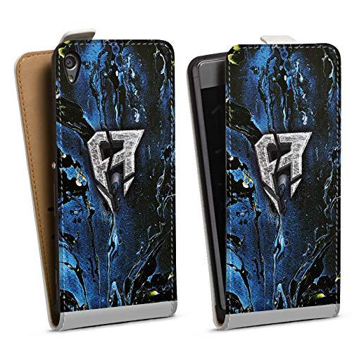 DeinDesign Tasche kompatibel mit Sony Xperia XA Flip Case Hülle ApoRed Merchandise Logo