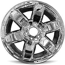 Road Ready Car Wheel For 2009-2013 GMC Sierra 1500 2009-2014 GMC Yukon 1500 20 Inch 6 Lug chrome Aluminum Rim Fits R20 Tire - Exact OEM Replacement - Full-Size Spare