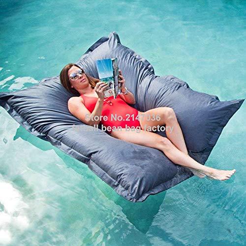 YAUTI Bubibag Wasser Schwimmenden Sitzsack Lesen Gartenmöbel Sitz-A