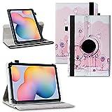 NAUC Schutzhülle kompatibel für Samsung Galaxy Tab Tablet Serie Tasche Hülle Hülle 360° Drehbar, Tablet :Samsung Galaxy Tab S2 9.7