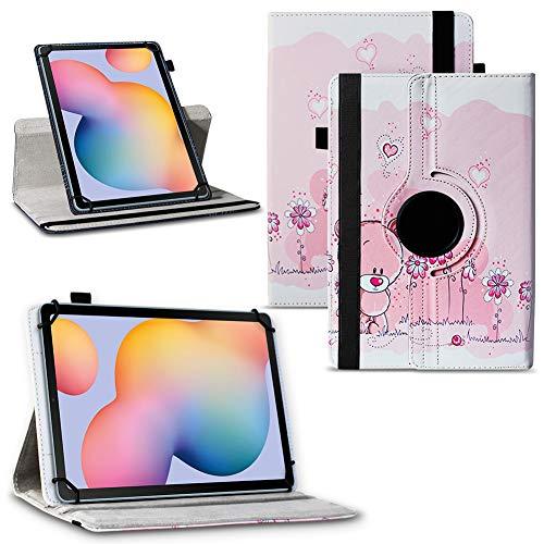 Schutzhülle kompatibel für Samsung Galaxy Tab Tablet Serie Tasche Hülle Hülle 360° Drehbar, Tablet :Samsung Galaxy Note 10.1