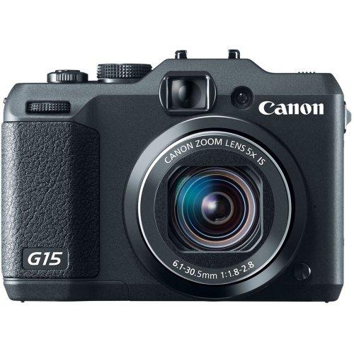 Canon PowerShot G15 Cámara compacta 12,1 MP 1/1.7' CMOS 4000 x 3000 Pixeles Negro -...