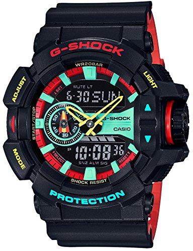 [カシオ] 腕時計 ジーショック ブリージ-ラスタカラー GA-400CM-1AJF メンズ ブラック