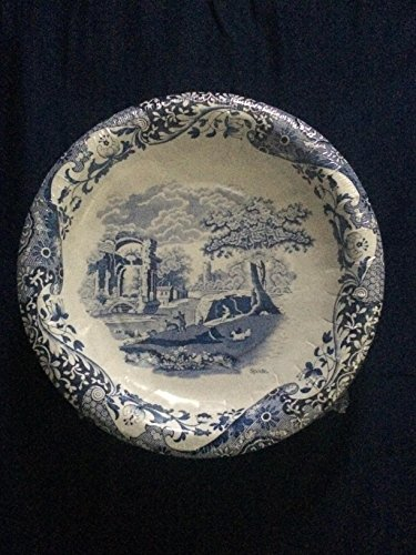 Spode Blue Italian Luncheon Dessert Plates 16 Count