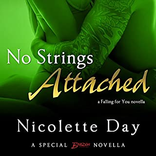 No Strings Attached audiobook cover art