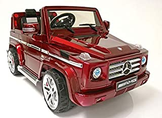 Mercedes G55 Licensed Remote Control Ride-on Car - Red