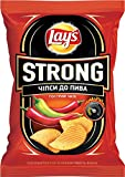 Lay's Strong Potato Chips Flaming Chili & Lime 120g/4.23oz
