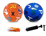 Kids Soccer Ball Kickballs Park Soccer Balls for Kids(6 inches) - Each Soccer Ball Purchase Benefits Kids in Need Making a Impact, Letters (Numbers), The Best Gift for Kids