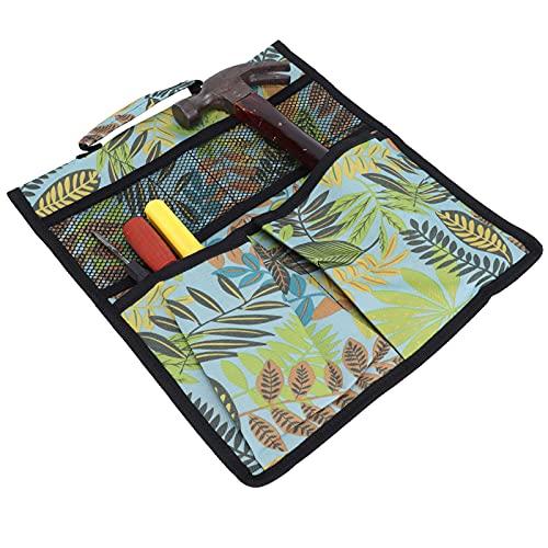 Bolsa de herramientas para carrito de jardín, bolsa de almacenamiento de herramientas de diseño con mango con hebilla de nailon para almacenamiento de herramientas de jardín