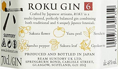Roku The Japanese Craft Gin - 6