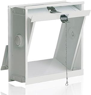 comprar comparacion Ventana oscilobatiente: para el montaje en la pared de bloques de vidrio para 1 bloque de vidrio 19x19x8 cm