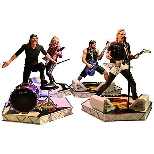 【予約商品】 METALLICA メタリカ (結成40周年) - Rock Iconz Statue Bundle (Set of 4) / 世界限定3000セ...