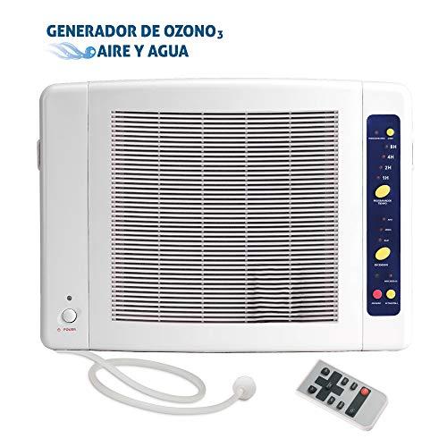 Generador Ozono Doméstico Aire Agua Programable