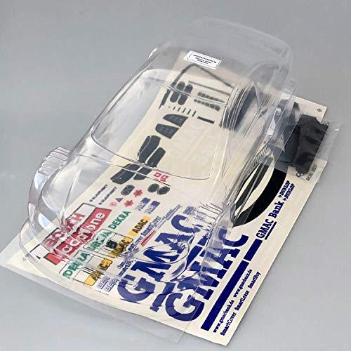 partCore RC Car Carrozzeria 1:10 Non Verniciato DTM 2003 Astra V8 Coupè 13263 con Decalcomanie Carson Gmac Banca Alain Menu No. 8 69237