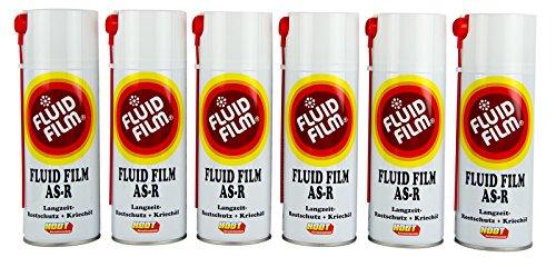 6x FLUID FILM AS-R Rostschutz Korrosionsschutz Hohlraumversiegelung Rostschutzmittel Korrissionsschutzmittel Hohlraumkonservierung 400 ml