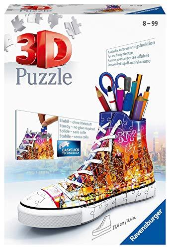 Ravensburger 3D Puzzle 11152 - Sneaker Skyline - 108 Teile