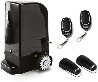 Kit completo Motorline Bravo 500 motor corredera profesional para automatizar puertas y cancelas correderas de hasta 500 kg de peso con accesorios de calidad profesional y manual en espa/ñol.