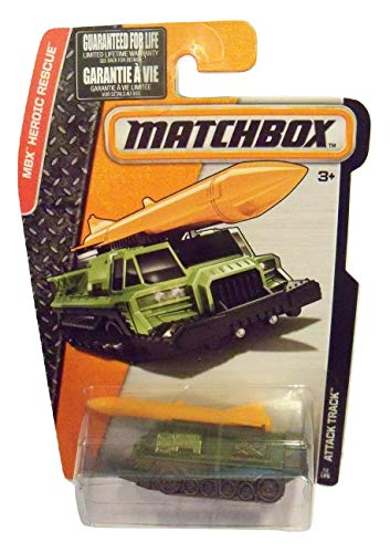 Matchbox Heroic Rescue - Attack Track - Army Green/Grey 72/125