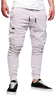 Man Pants Cotton Denim Tight Hole Biker Torn Jeans Skinny Cargo Straight Slim High Waist Stretch Elastic Pants Casual Autu...