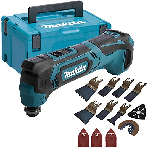 Makita TM30DZ 10.8v CXT Cordless Multitool with 39 Pieces Accessories Set & Makpac Case