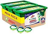 Ariel Allin1 Pods Professional A+ Detergente en Capsulas Para la Lavadora, Acabado profesional con la Fragancia de Siempre, 126 Lavados (3 x 42)