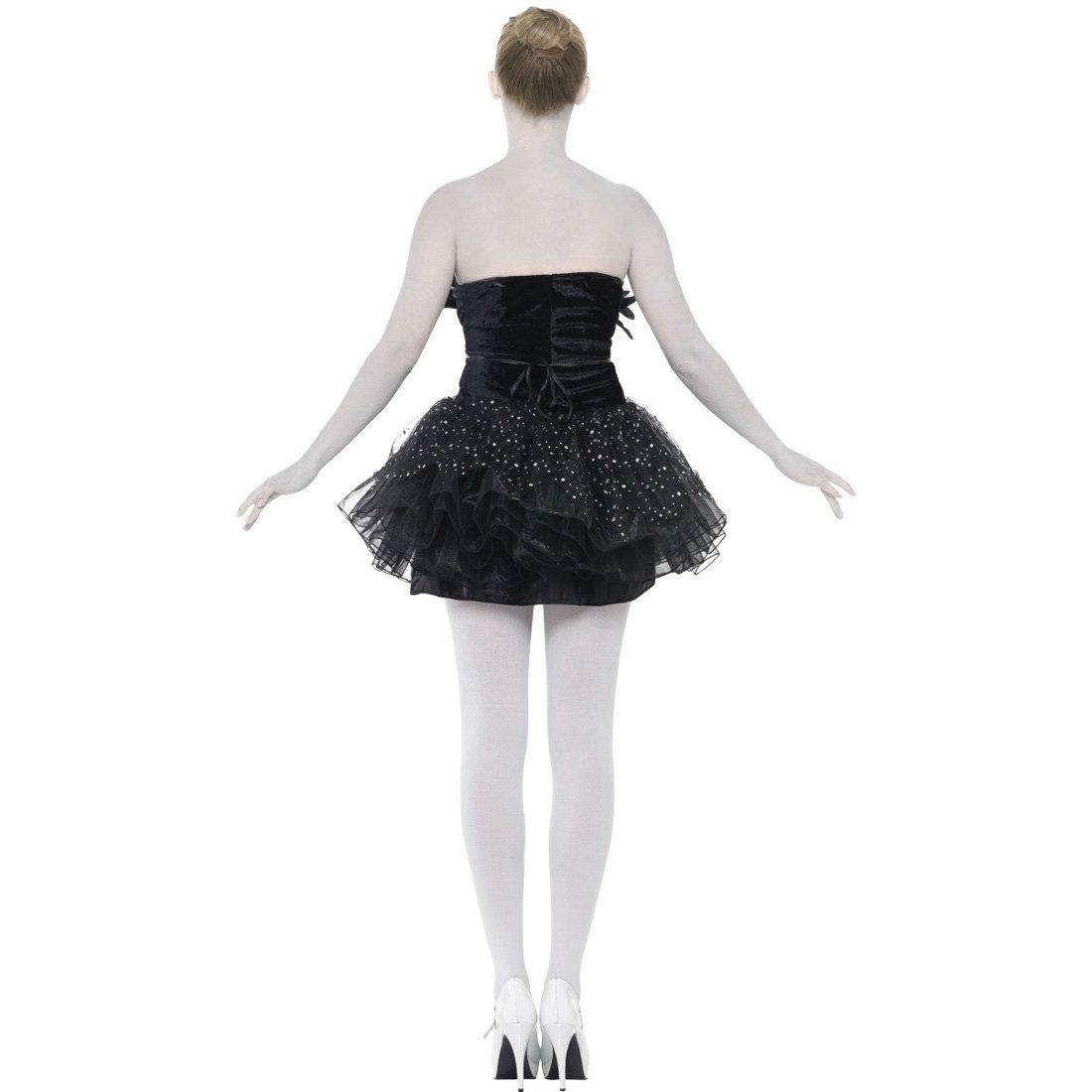 NET TOYS Disfraz gótico de Cisne Negro Vestido Danza Ballet Mujer ...