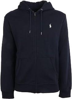 Ralph Lauren Luxury Fashion Man 710652313008 Blue Polyester Sweatshirt | Season Permanent