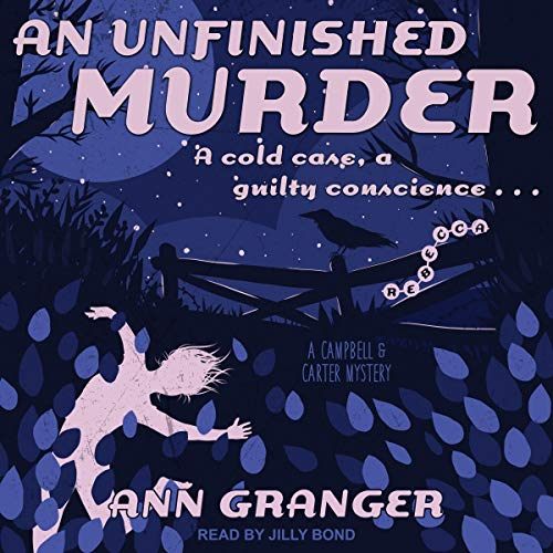 An Unfinished Murder audiobook cover art