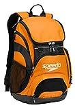 Speedo Unisex-Adult Large Teamster Backpack 35-Liter , Bright Marigold/Black