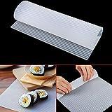 GXMZL Sushi Maker - Sushi Rodillo de la Torta del silicón del Fabricante del balanceo Mat Picnic Antiadherente Superficie Lavable Reutilizable