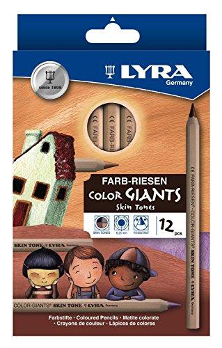 Lyra 3931124 Farb-Riese Skin Tones, 12er-Kartonetui