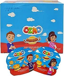 Ozmo Burger Sandwich Biscuit, 40 gm