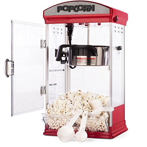 Find Discount Carnus Home Popcorn Machine | Features Popcorn Maker with Popcorn Scoop, Measuring Cup...