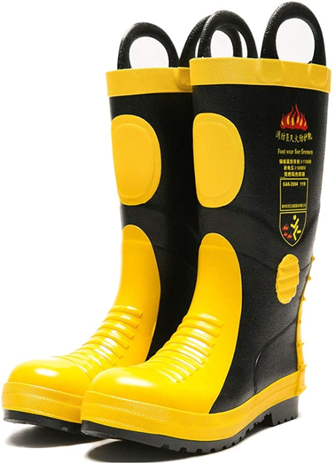 Adult Non-Slip Boots, Fire Predection Boots, Steel Plate Insulation Fire Safety Boots