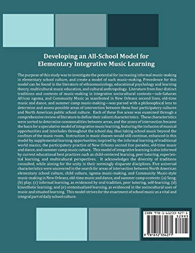 Developing an All-School Model for Elementary Integrative Music Learning