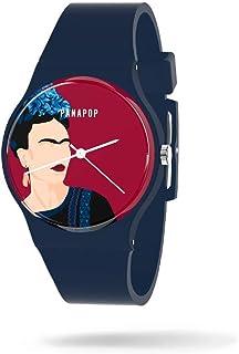 Reloj Mujer Frida Kahlo   Relojes Mujer Pulsera   Reloj Analógico Mujer  Reloj de Mujer Correa Silicona   Relojes para Muj...