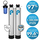 Whole House Water Filter & Water Softener Alternative (4-6 Bathrooms)