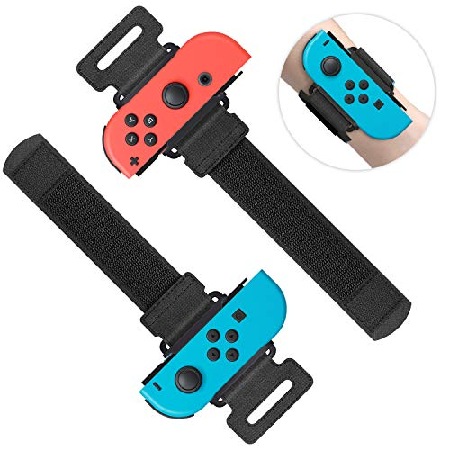 Muñequeras para Just Dance 2020 2019 y Zumba Burn It Up para Nintendo Switch Controller Game ...