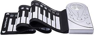 Elrido Roll Up Piano 49-Key Electronic Portable Piano Keyboa