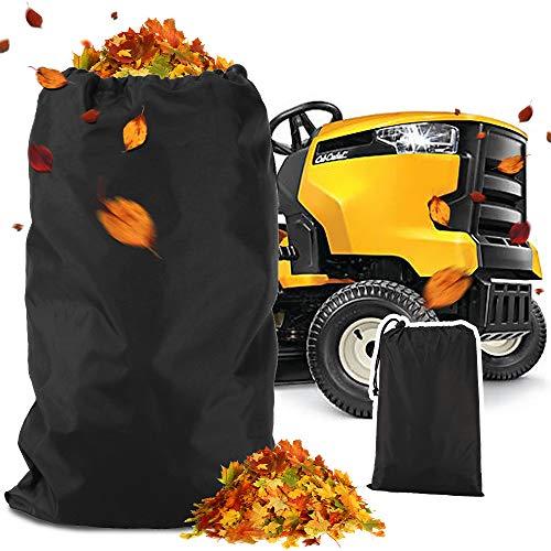 KLOLKUTTA Lawn Mower Leaf Bag Fits Lawn Tractors Leaves Bag, Durable 54 Cubic Foot Standard Leaf Bag Durable Oxford Cloth Material
