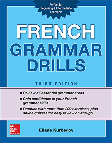 French Grammar Drills, Third Edition (NTC FOREIGN LANGUAGE)