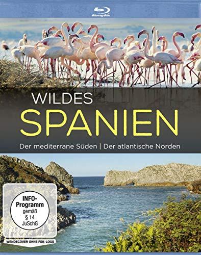 Wildes Spanien - Der mediterrane Süden / Der atlantische Norden [Alemania] [Blu-ray]