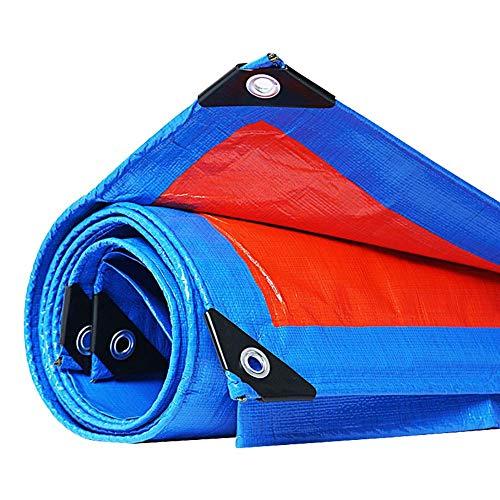 JY & WIN waterdicht hoogpresterende dekzeil met oogjes voor overkapping tent boot auto terras plant of zwemafdekking - 160 G M & sup2; (maat: 4 mx 6 m) 2 m x 3 m.