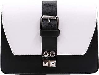 Nobasic Flap Bag For Women, Black & White