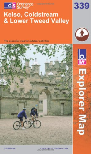 OS Explorer map 339 : Kelso, Coldstream & Lower Tweed Valley
