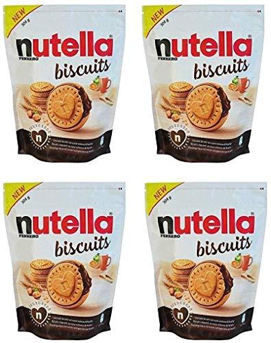 Nutella Value Pack Nutella Plätzchen Kekse 304G Paket Von 22 (Satz 4)