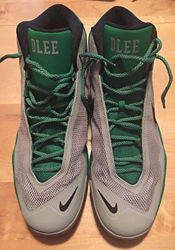 2015-16 David Lee Game Worn Boston Celtics Air Max Audacity Sneakers