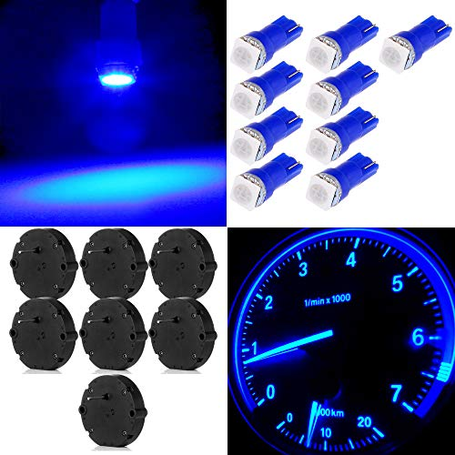 OCPTY 7 Pcs X27.168 Instrument Cluster Gauge Stepper Motor Kit with 9 Pcs T5 LED Light Bulbs Chevy Silverados, Tahoes, Yukons, Suburbans