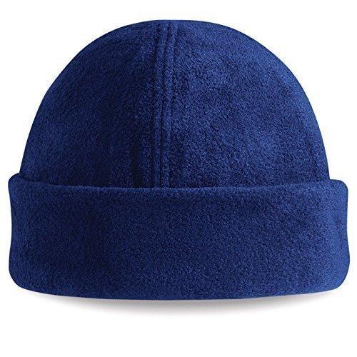 ShirtInStyle SuprafleeceTM Ski Chapeau, Bonnet d'hiver, bonnet - Bleu Marine